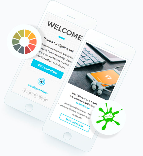 BEE Plugin | Embeddable email and landing page editor for SaaS