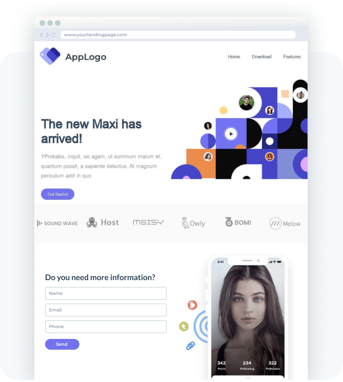 Landing Pages that are beautiful, responsive & render well anywhere